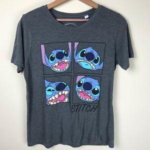 Disney Stitch T-shirt Size Large